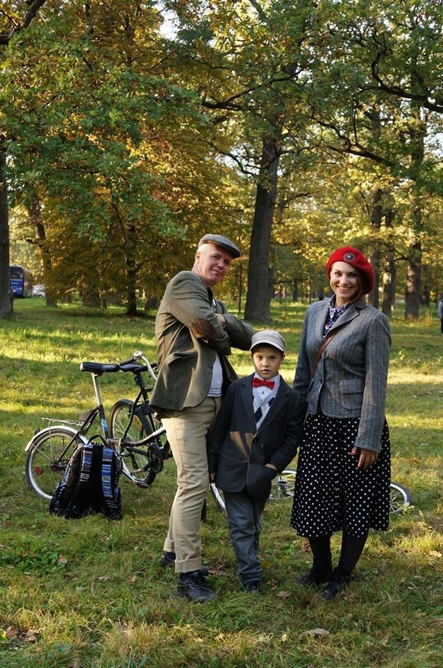 Tweed Run: У Білій Церкві вперше відбувся ретро-велопробіг у англійському стилі, фото-13