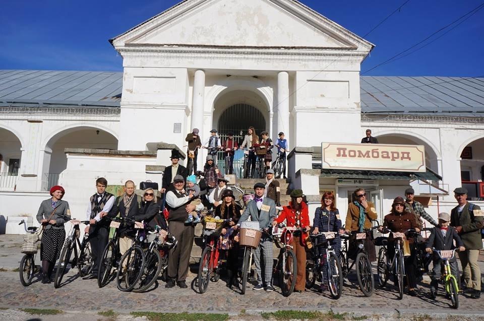 Tweed Run: У Білій Церкві вперше відбувся ретро-велопробіг у англійському стилі, фото-20