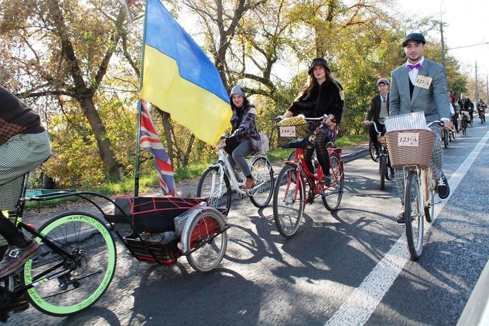 Tweed Run: У Білій Церкві вперше відбувся ретро-велопробіг у англійському стилі, фото-7