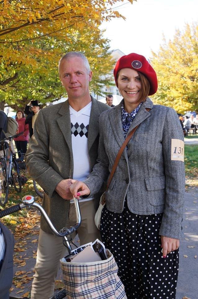 Tweed Run: У Білій Церкві вперше відбувся ретро-велопробіг у англійському стилі, фото-4