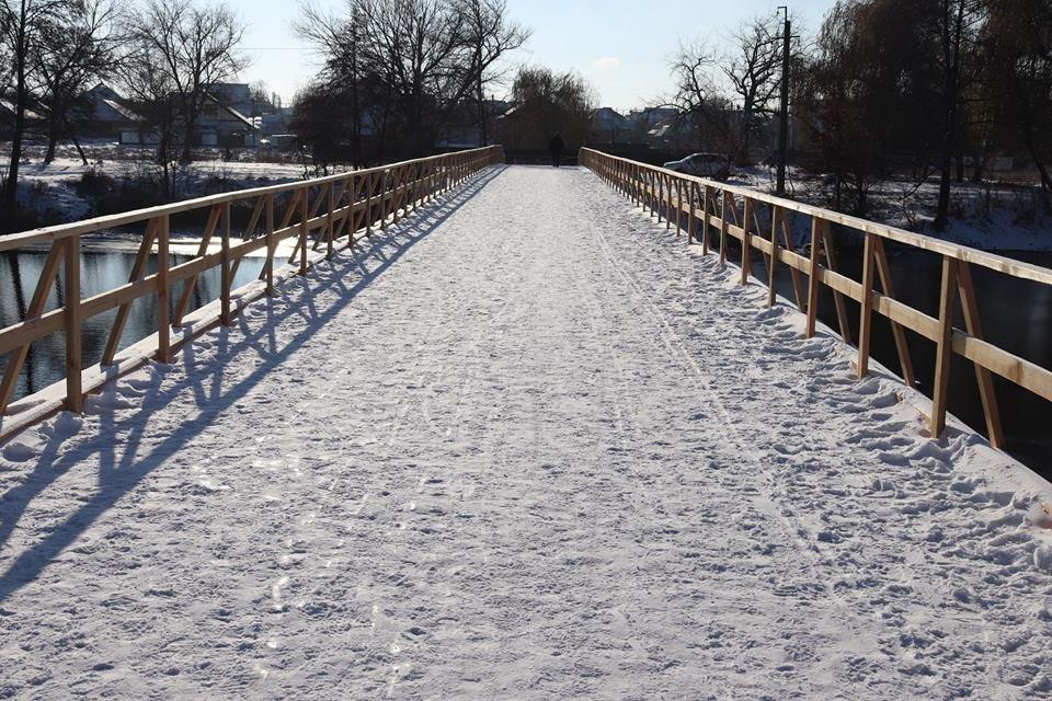 У Білій Церкві завершився ремонт дерев'яного мосту , фото-1