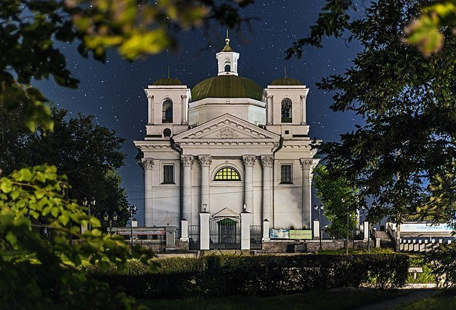 Фотографія костьолу святого Івана Хрестителя у Білій Церкві зайняла призове місце у конкурсі «Вікі любить пам'ятки», фото-1