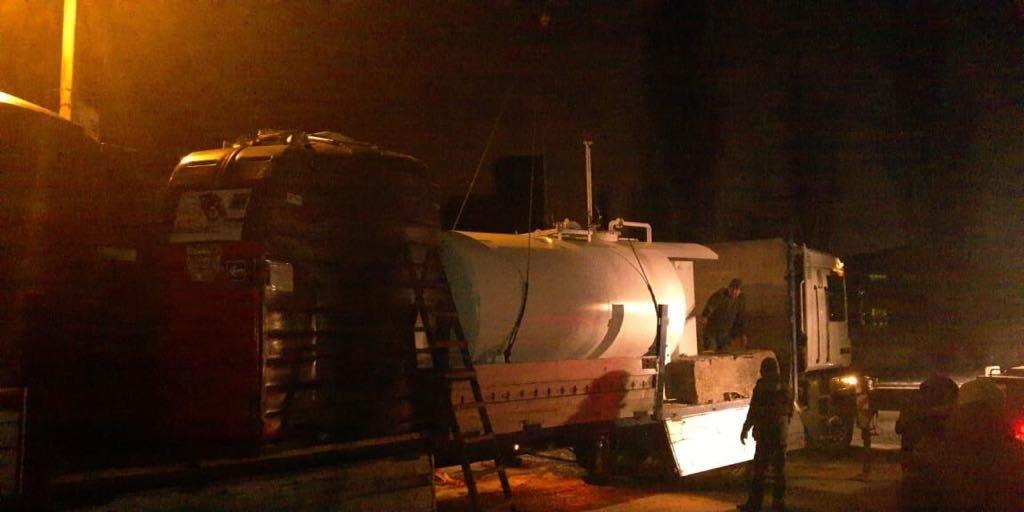 У Білій Церкві на 2 нелегальних АЗС вилучили незаконне обладнання та паливо , фото-2