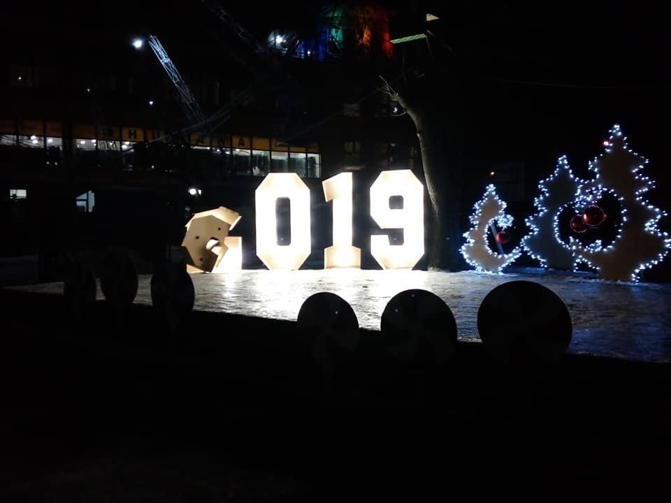 У Білій Церкві вандали спаплюжили новорічний декор і ялинку, фото-3