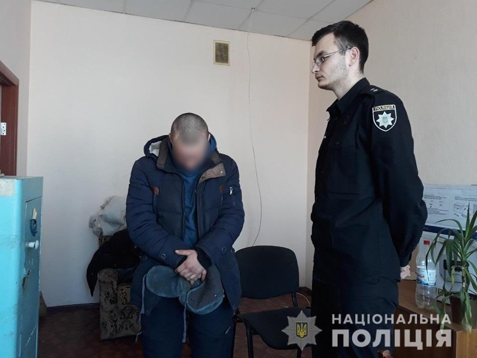 На Білоцерківщині 17-річний грабіжник напав на жінку з дитиною , фото-1