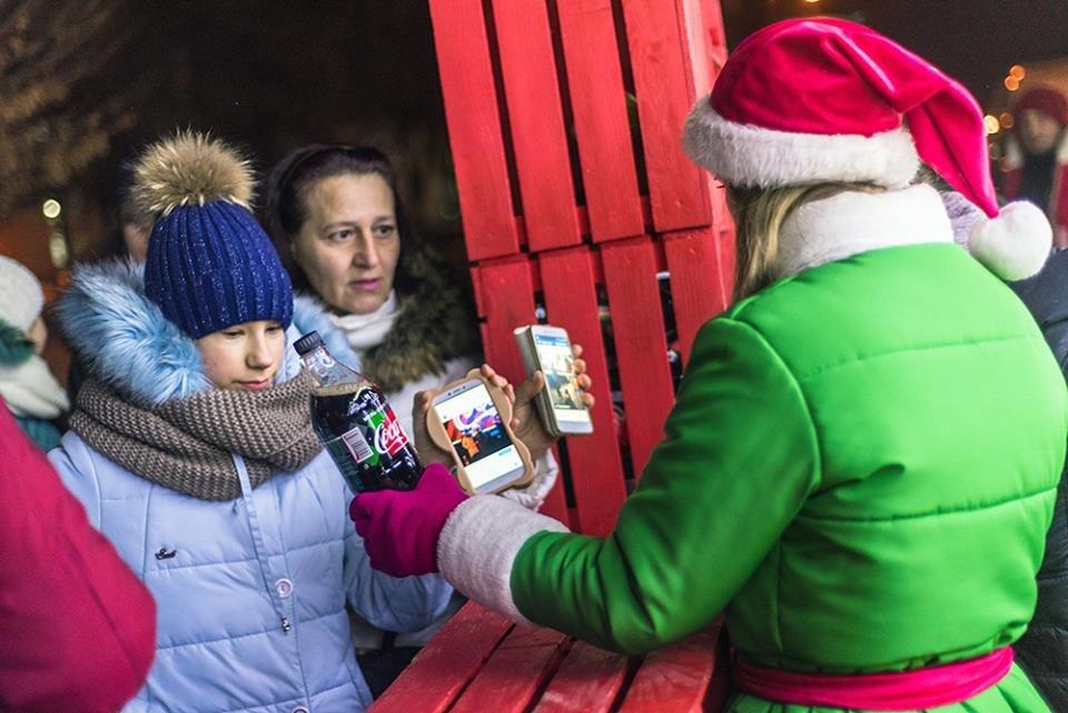 """До Білої Церкви приїжджала новорічна вантажівка """"Coca-Cola"""" (ФОТОЗВІТ), фото-22"""