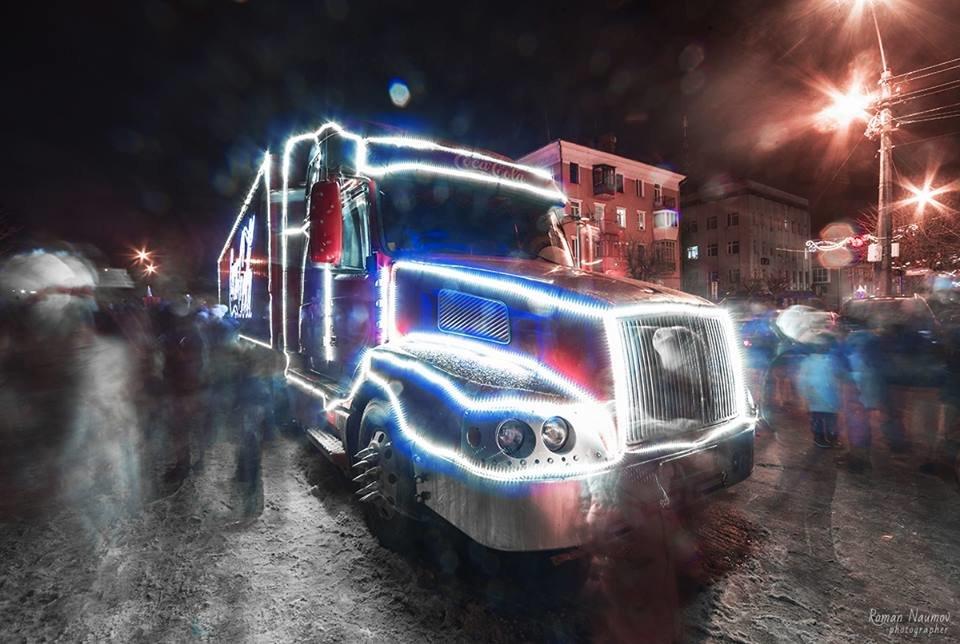 """До Білої Церкви приїжджала новорічна вантажівка """"Coca-Cola"""" (ФОТОЗВІТ), фото-2"""