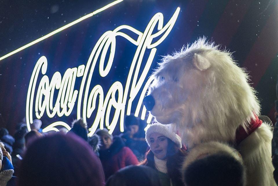 """До Білої Церкви приїжджала новорічна вантажівка """"Coca-Cola"""" (ФОТОЗВІТ), фото-11"""