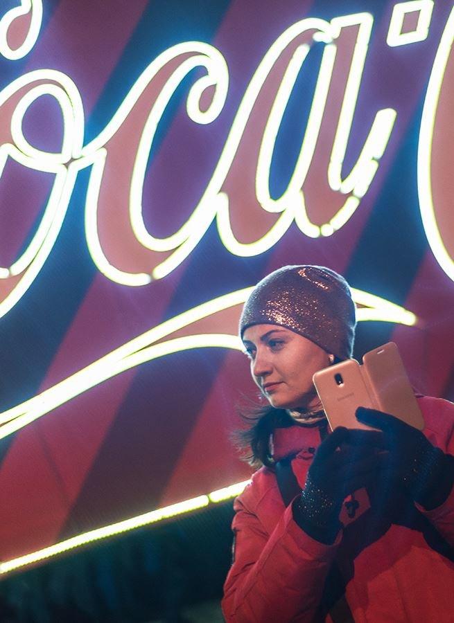 """До Білої Церкви приїжджала новорічна вантажівка """"Coca-Cola"""" (ФОТОЗВІТ), фото-19"""