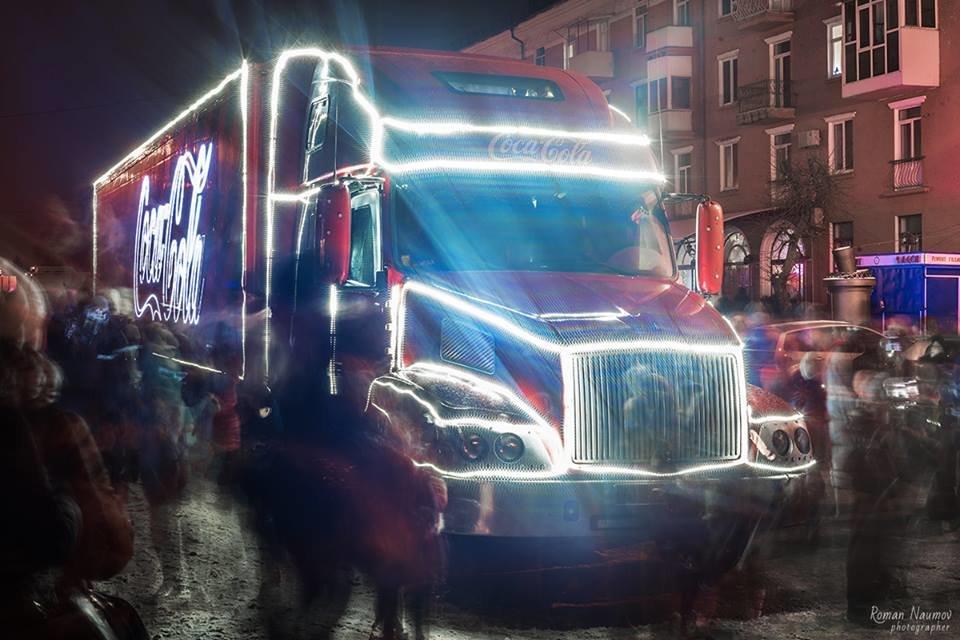 """До Білої Церкви приїжджала новорічна вантажівка """"Coca-Cola"""" (ФОТОЗВІТ), фото-23"""