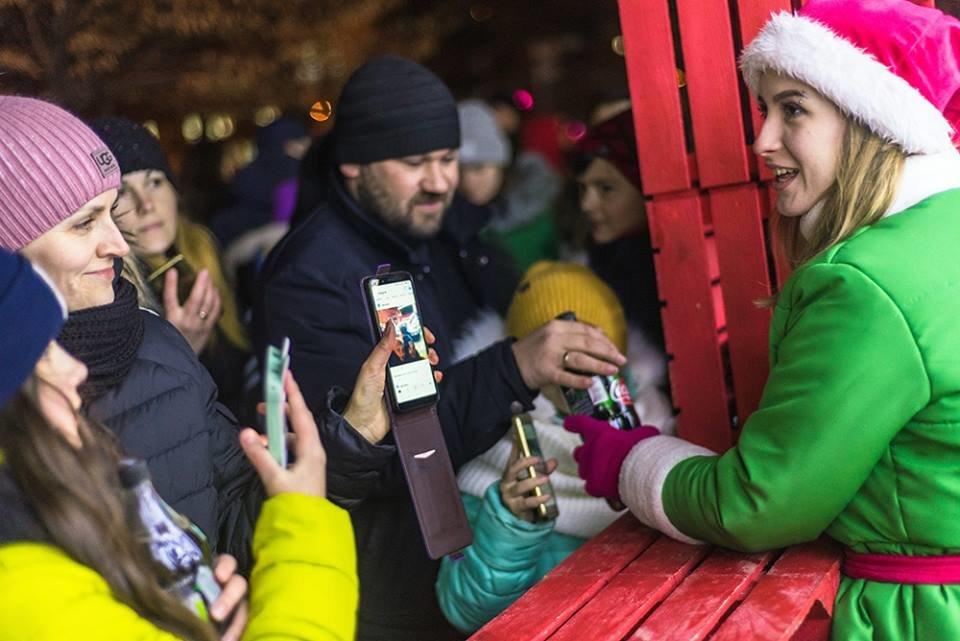 """До Білої Церкви приїжджала новорічна вантажівка """"Coca-Cola"""" (ФОТОЗВІТ), фото-15"""