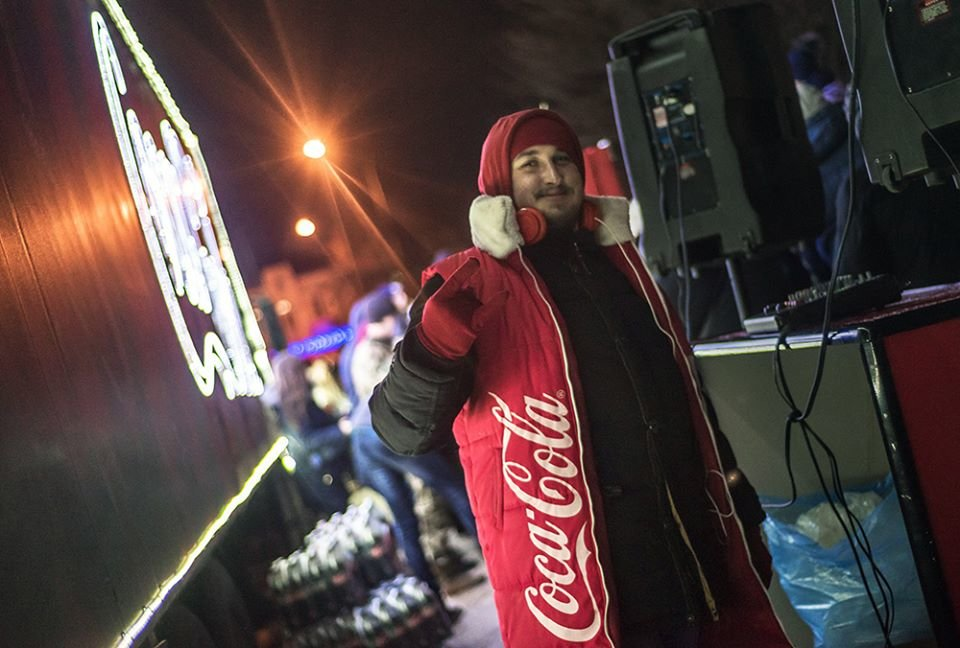"""До Білої Церкви приїжджала новорічна вантажівка """"Coca-Cola"""" (ФОТОЗВІТ), фото-10"""