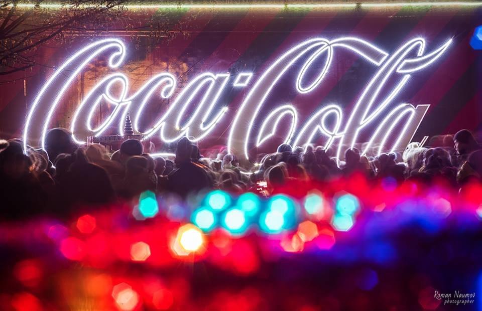 """До Білої Церкви приїжджала новорічна вантажівка """"Coca-Cola"""" (ФОТОЗВІТ), фото-24"""