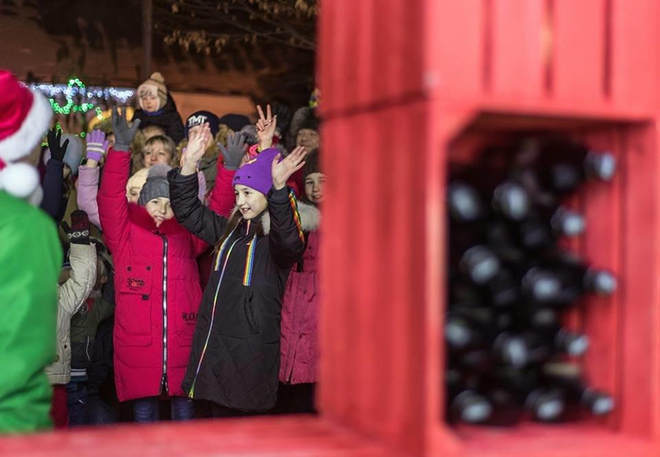 """До Білої Церкви приїжджала новорічна вантажівка """"Coca-Cola"""" (ФОТОЗВІТ), фото-8"""