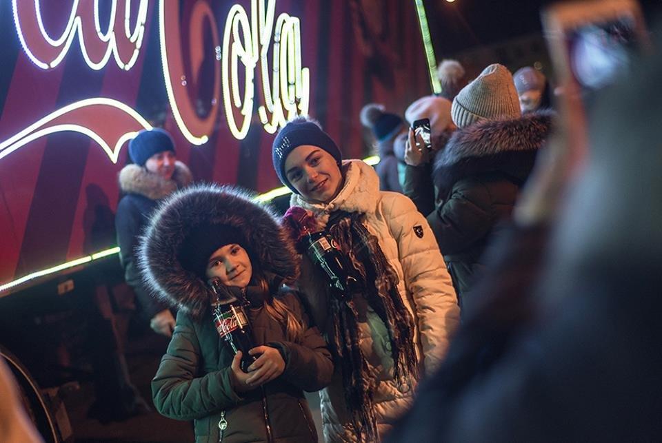 """До Білої Церкви приїжджала новорічна вантажівка """"Coca-Cola"""" (ФОТОЗВІТ), фото-6"""