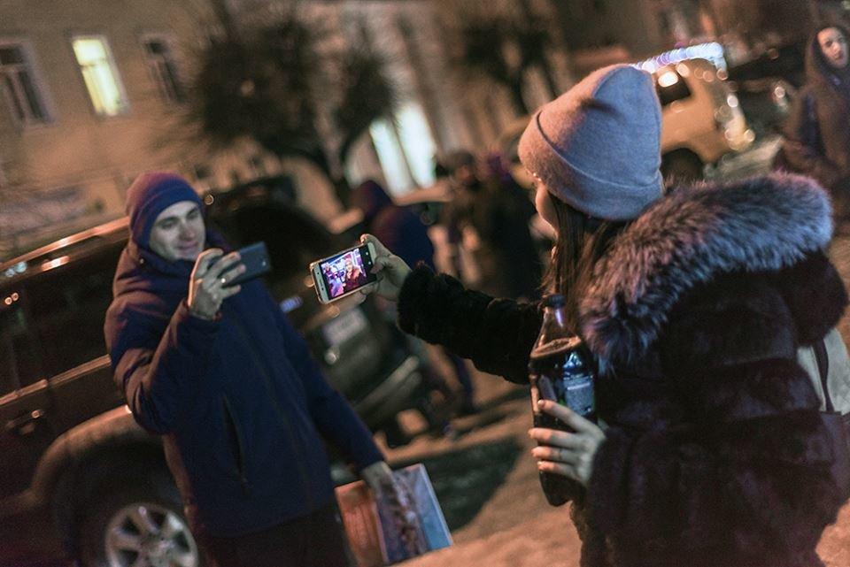 """До Білої Церкви приїжджала новорічна вантажівка """"Coca-Cola"""" (ФОТОЗВІТ), фото-3"""