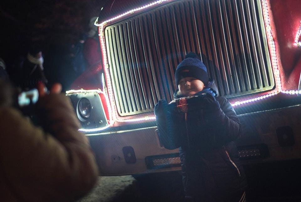"""До Білої Церкви приїжджала новорічна вантажівка """"Coca-Cola"""" (ФОТОЗВІТ), фото-7"""