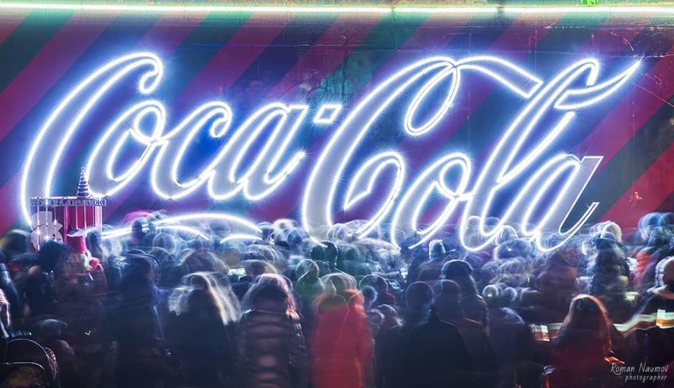 """До Білої Церкви приїжджала новорічна вантажівка """"Coca-Cola"""" (ФОТОЗВІТ), фото-9"""