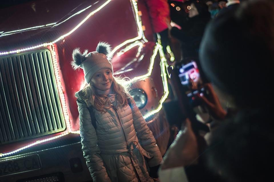"""До Білої Церкви приїжджала новорічна вантажівка """"Coca-Cola"""" (ФОТОЗВІТ), фото-4"""