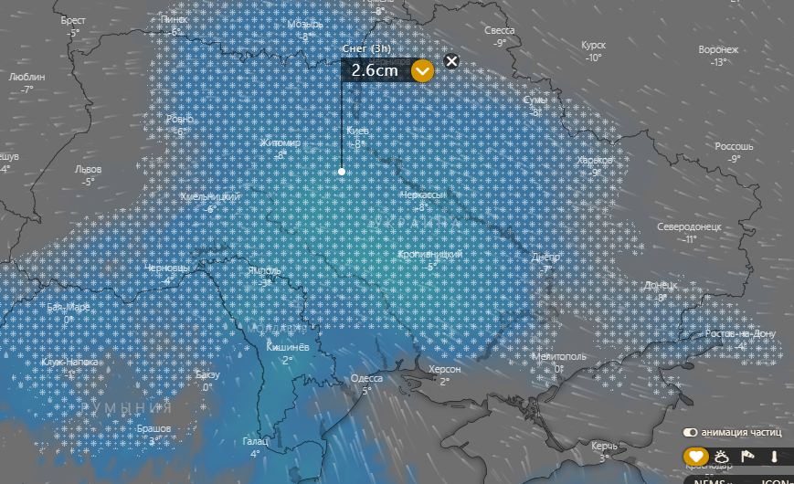 Погода в Білій Церкві 23 січня: в Україні вируватимуть хуртовини, фото-1