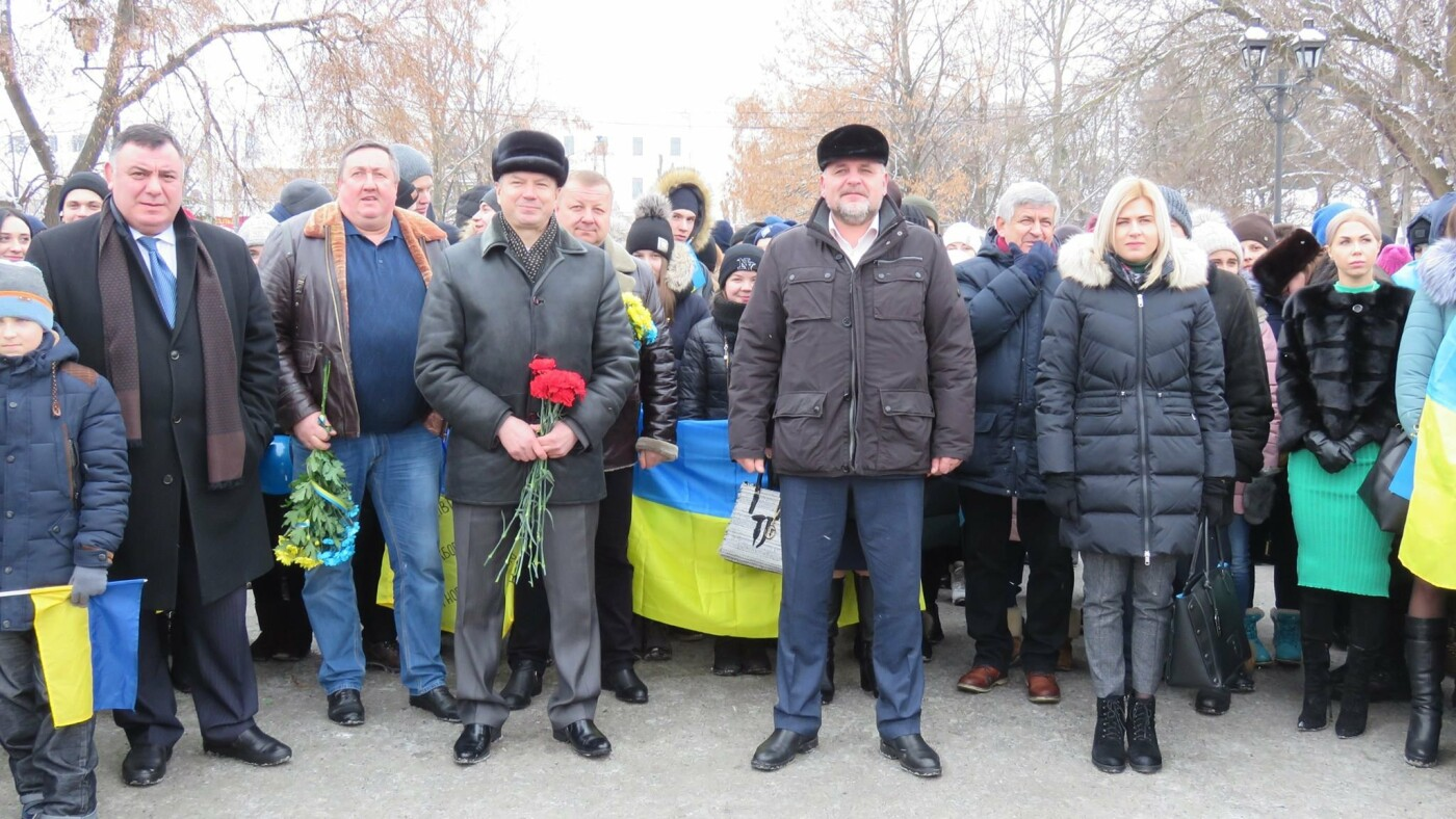 Живий ланцюг, прапори і карта України: як у Білій Церкві відзначали День Соборності , фото-8