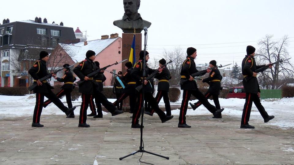 Живий ланцюг, прапори і карта України: як у Білій Церкві відзначали День Соборності , фото-2