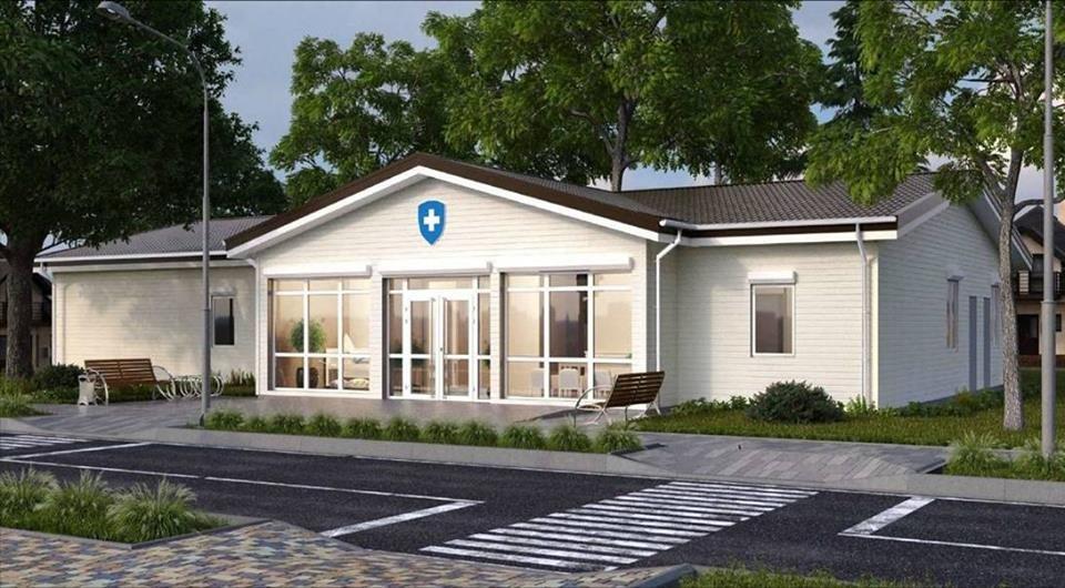 На Білоцерківщині в селі Озерна будують нову сучасну амбулаторію сімейної медицини, фото-1