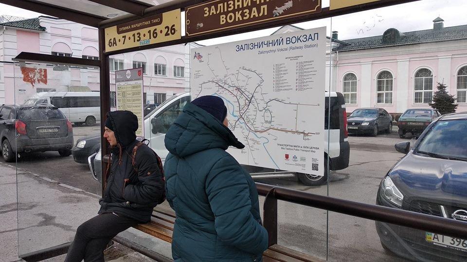 У Білій Церкві на зупинках громадського транспорту з'являться детальні схеми маршрутів, фото-3