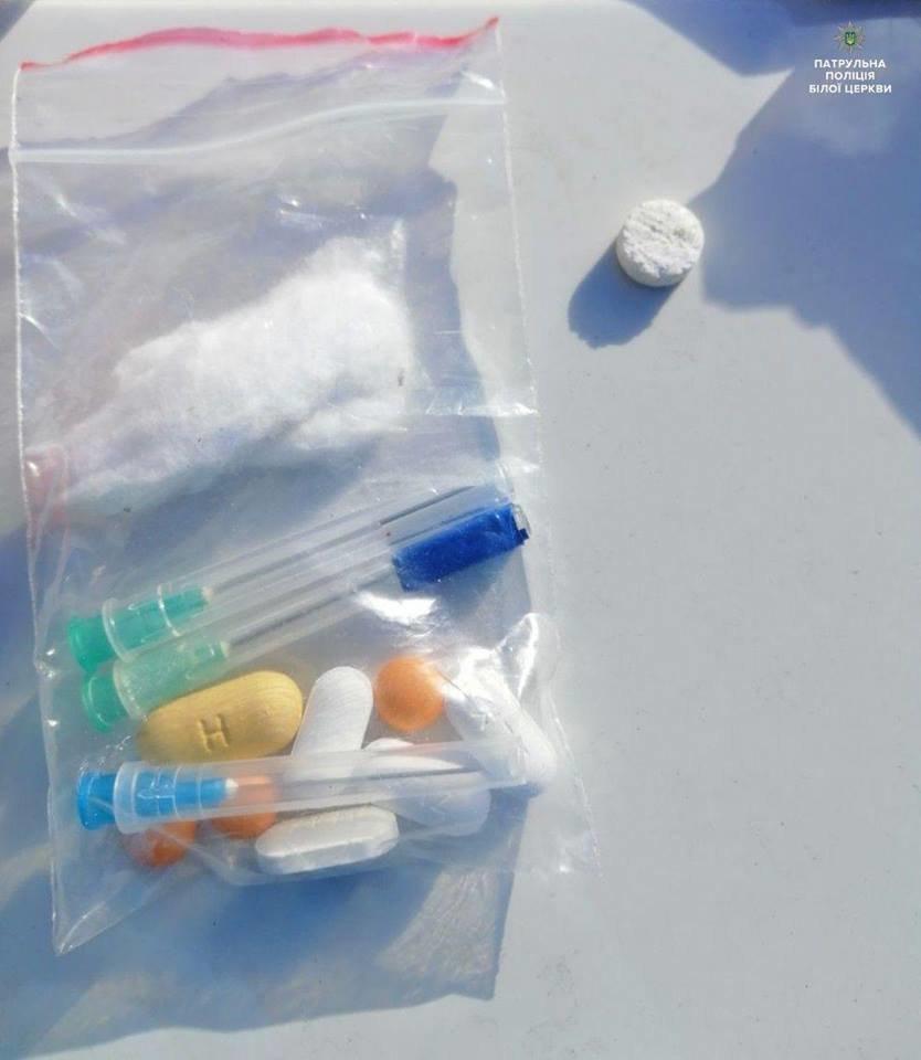 Білоцерківські патрульні затримали чотирьох чоловіків з наркотиками , фото-7