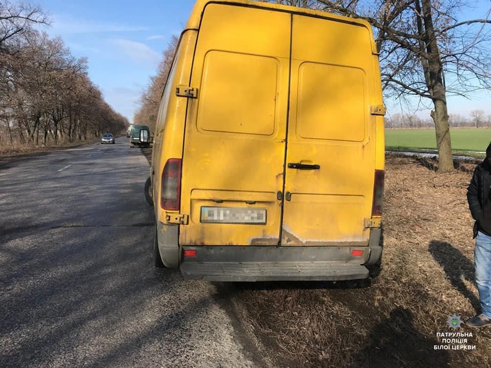 Білоцерківські правоохоронці затримали водія, який зник з місця ДТП , фото-3