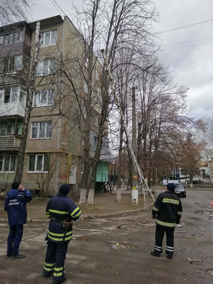 До уваги білоцерківців: ДСНС оголосила «помаранчевий» рівень небезпеки через вітер, фото-3