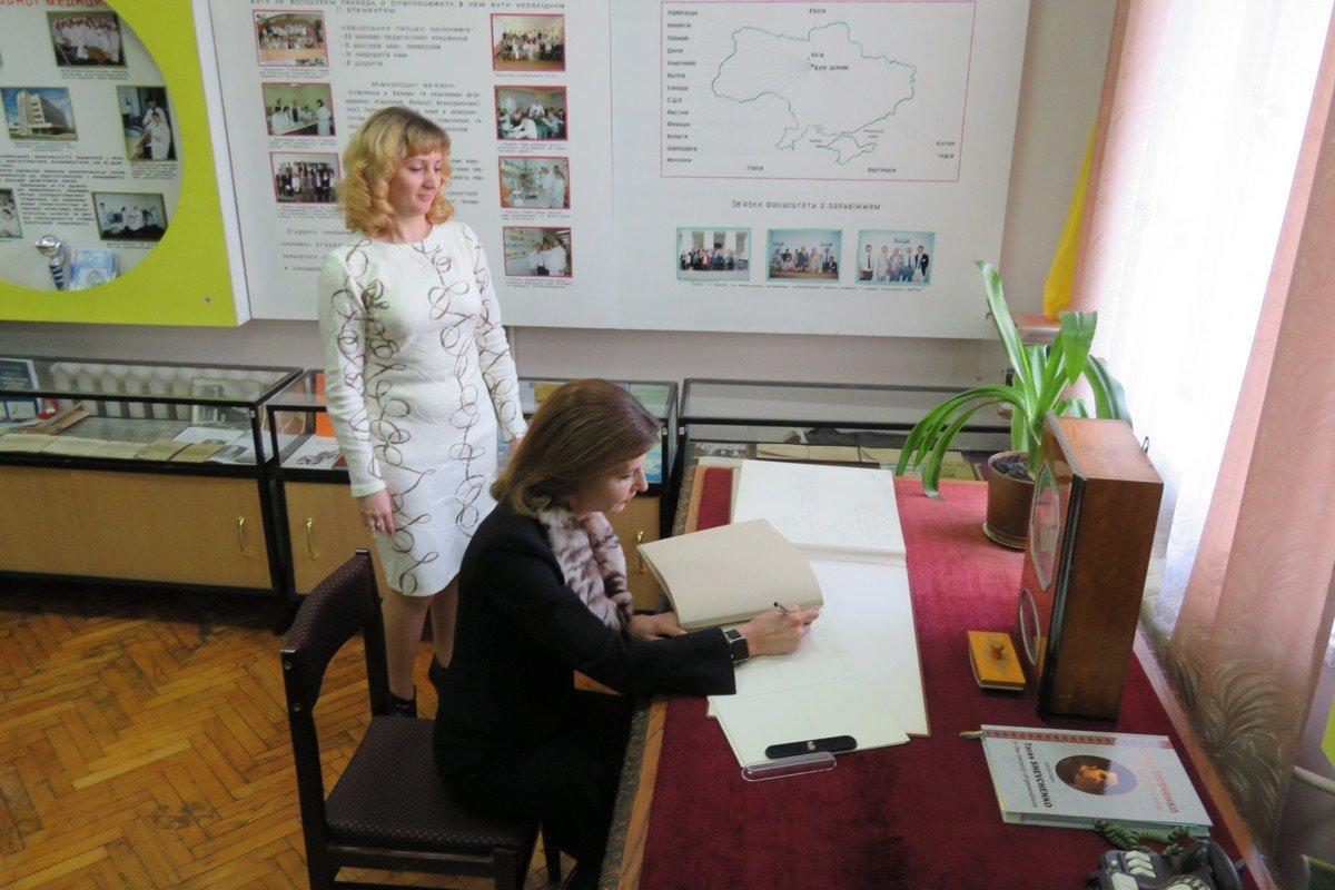 У Білу Церкву з робочим візитом приїжджала дружина Президента України Марина Порошенко, фото-1