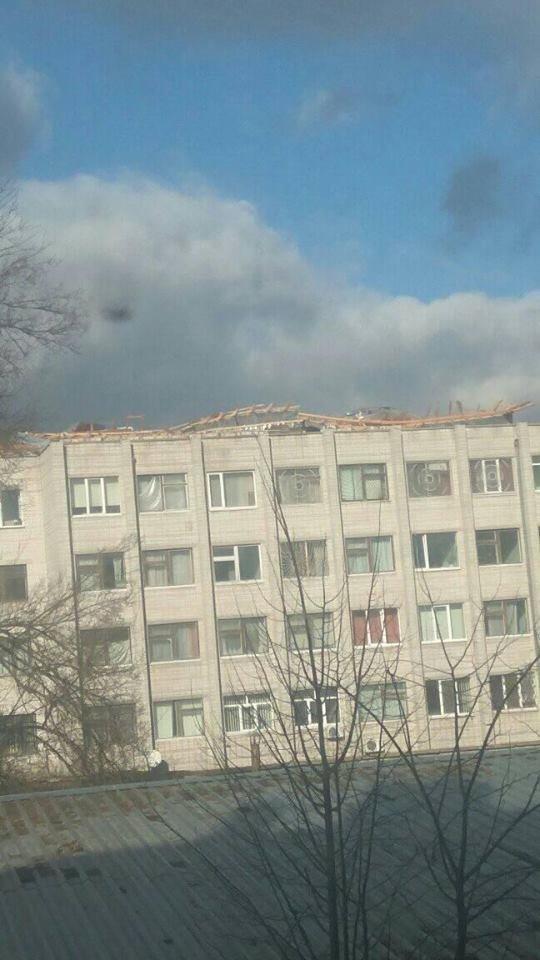 Повалені дерева і зірвані дахи: що наробила негода в Білій Церкві, фото-12