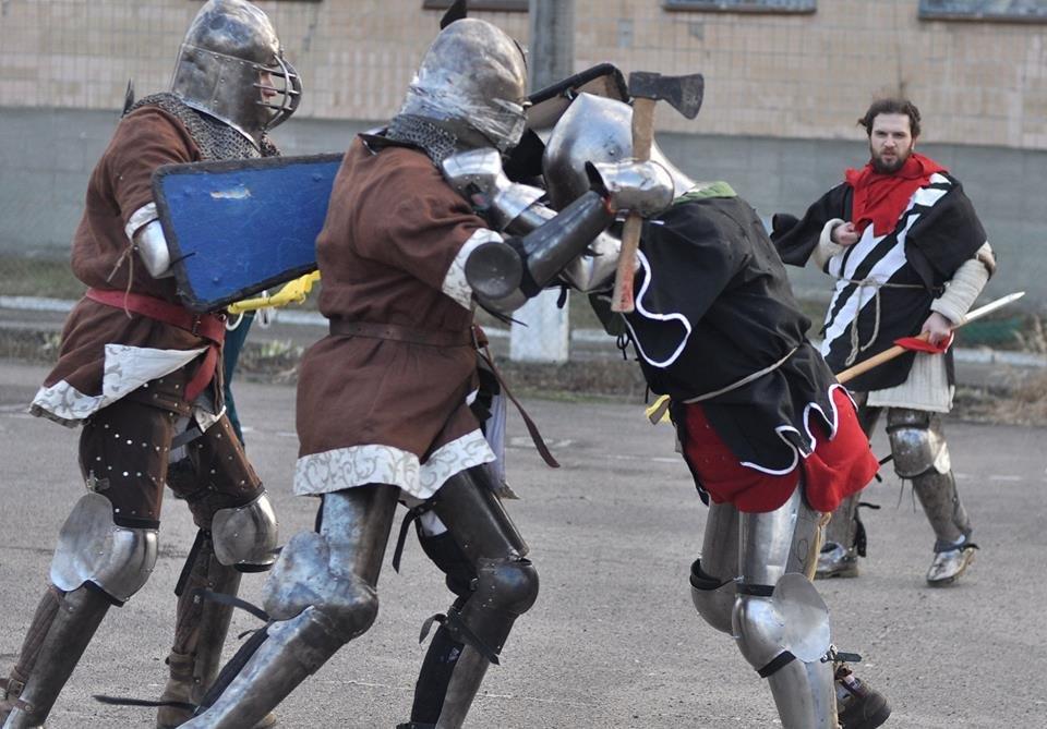У Білій Церкві відбувся турнір середньовічного бою «Heavy Metal Fight»  , фото-16
