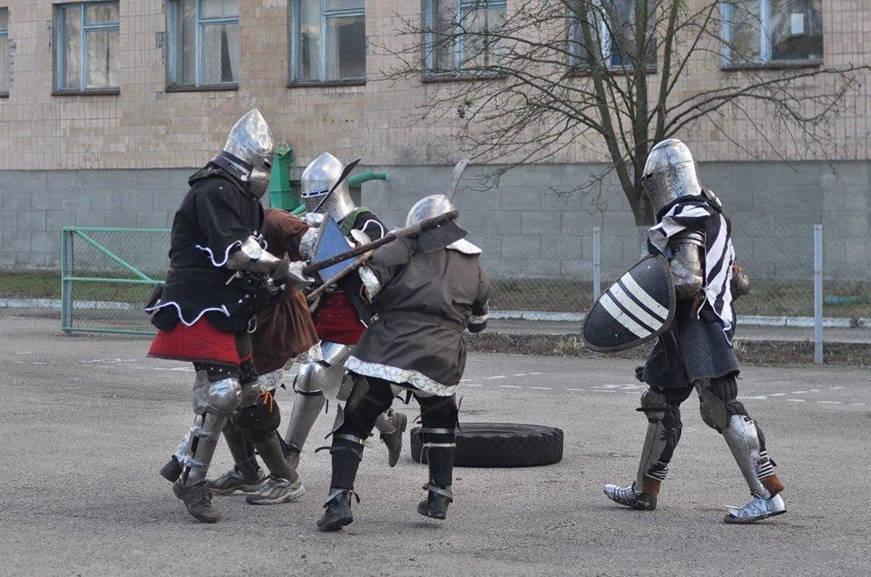 У Білій Церкві відбувся турнір середньовічного бою «Heavy Metal Fight»  , фото-2