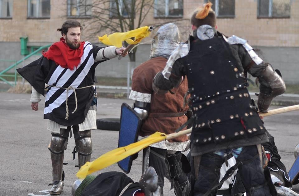 У Білій Церкві відбувся турнір середньовічного бою «Heavy Metal Fight»  , фото-1
