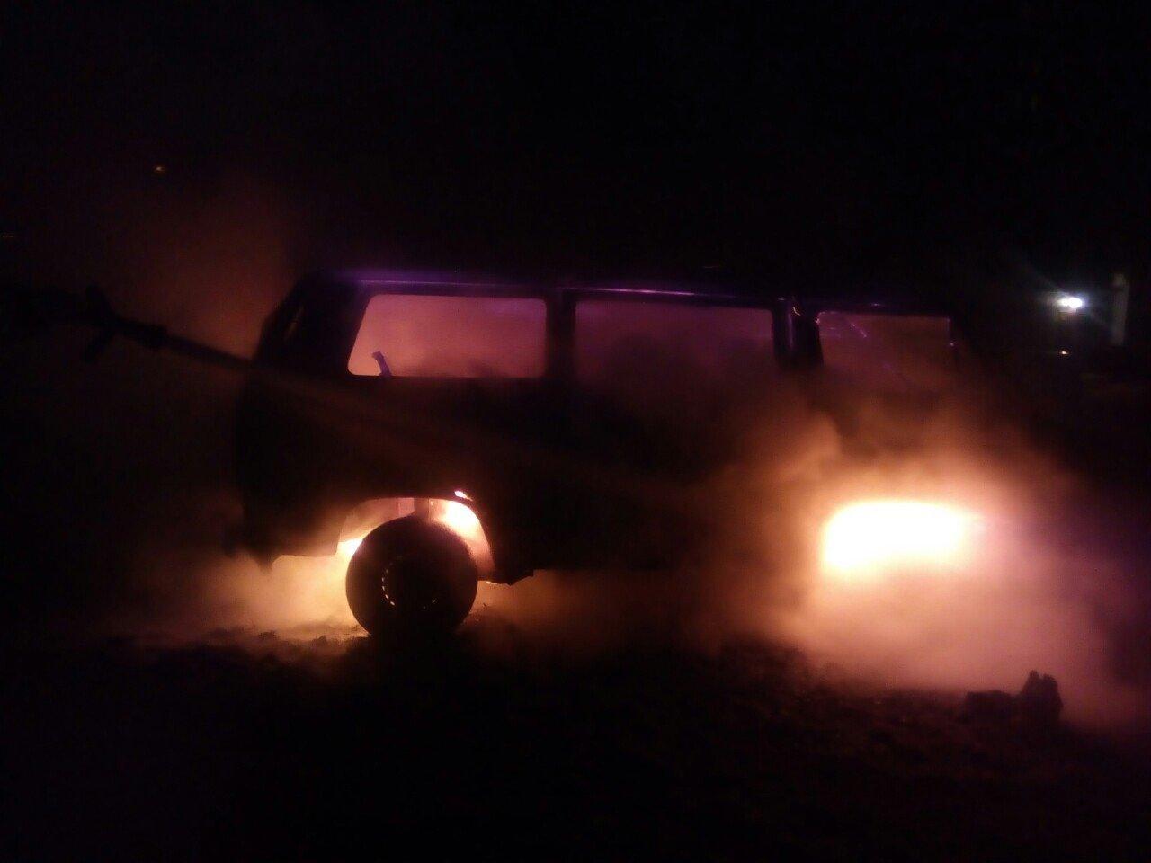 У Білій Церкві вночі згорів автомобіль, фото-2