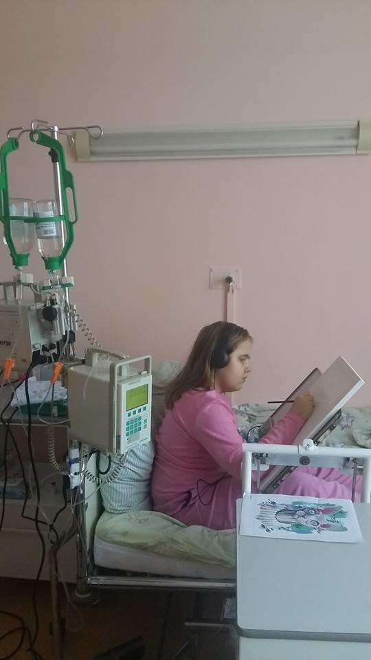 10-річній Вікторії Рибак необхідна допомога у лікуванні хвороби крові, фото-5