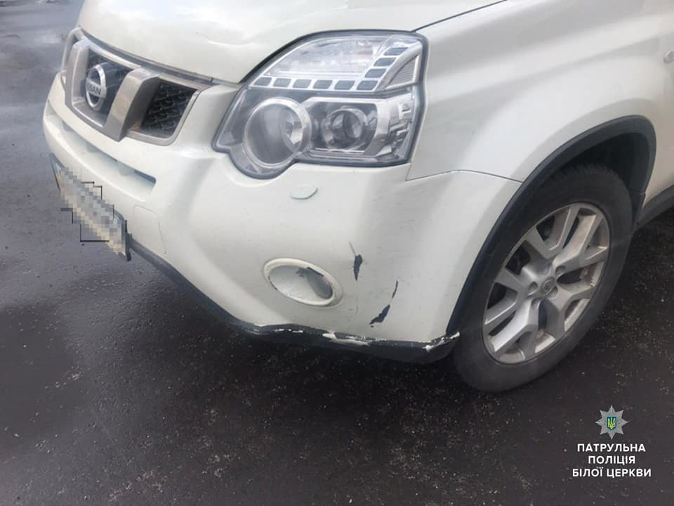 Білоцерківські патрульні затримали водія авто, який втік з місця ДТП, фото-3