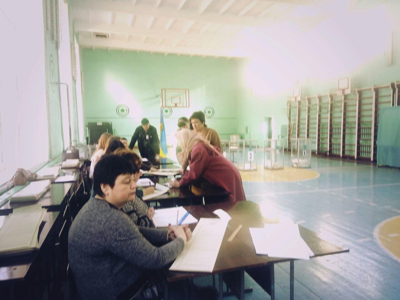 У Білій Церкві виборець проголосував за пенсійним посвідченням, фото-2