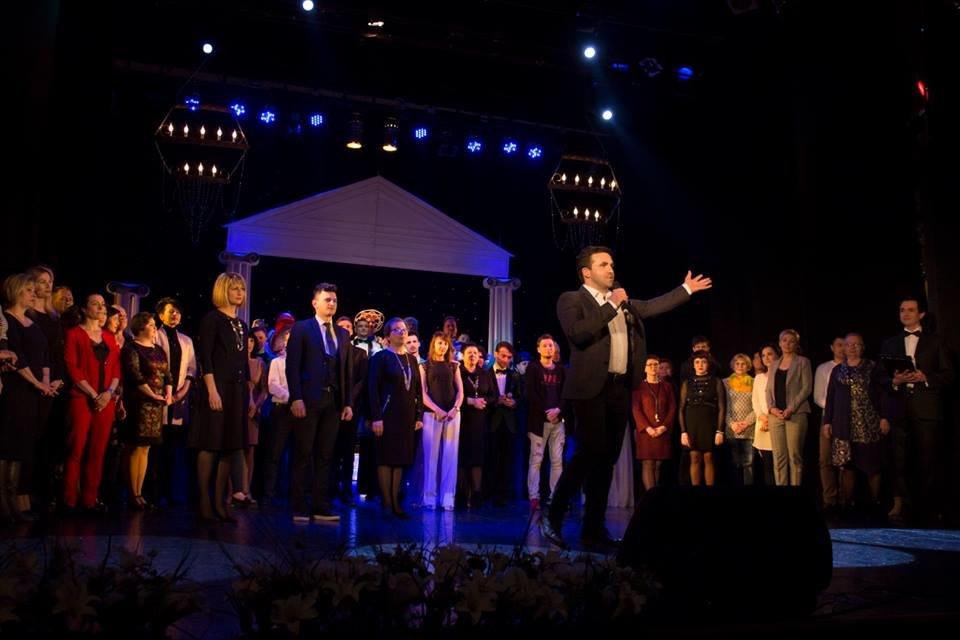 Театр ім. Саксаганського відсвяткував 85-річний ювілей, фото-34