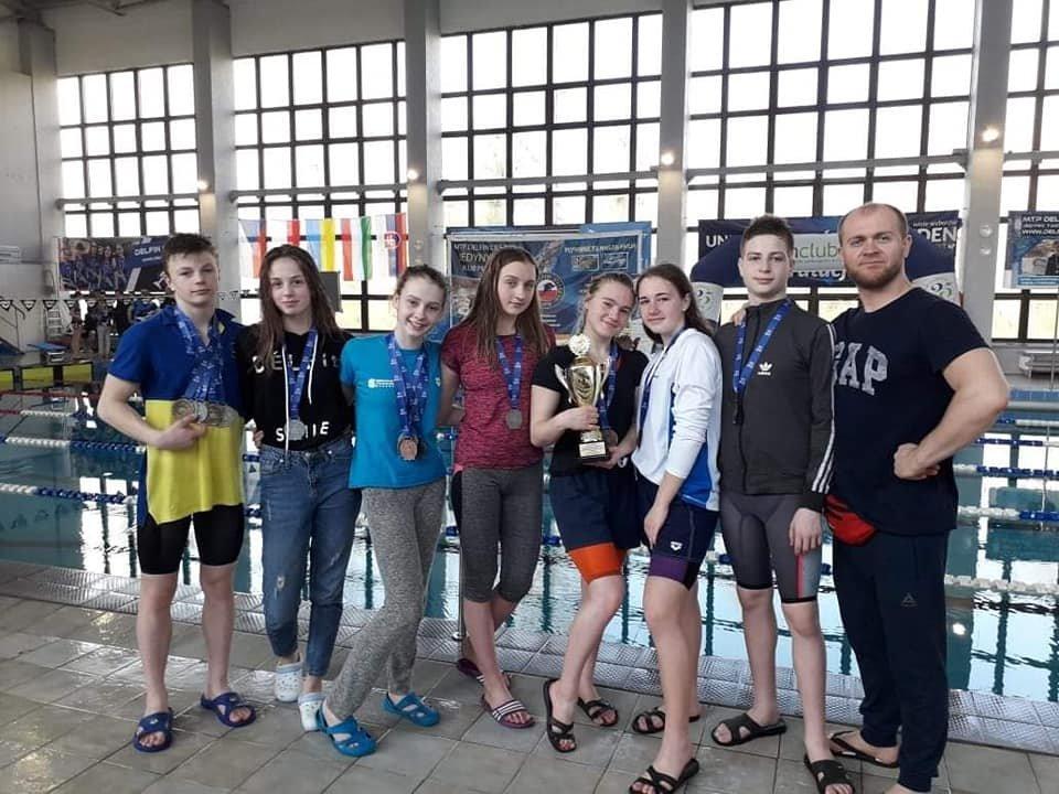Плавці з Білої Церкви стали переможцями на міжнародному турнірі у Польші, фото-4