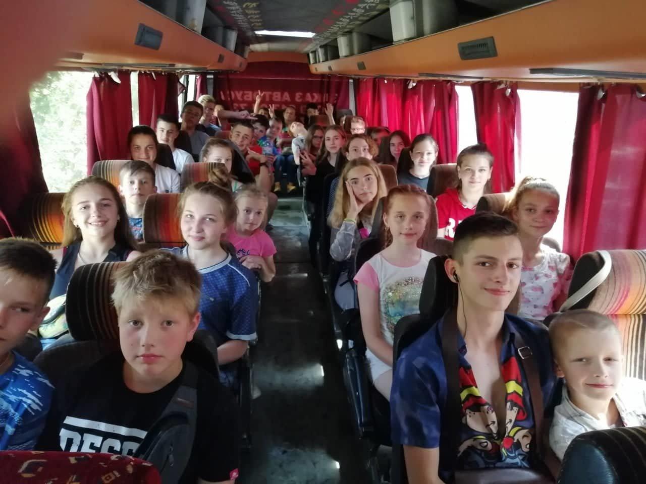 Діти учасників АТО з Білої Церкви поїхали на відпочинок до Лазурного, фото-3