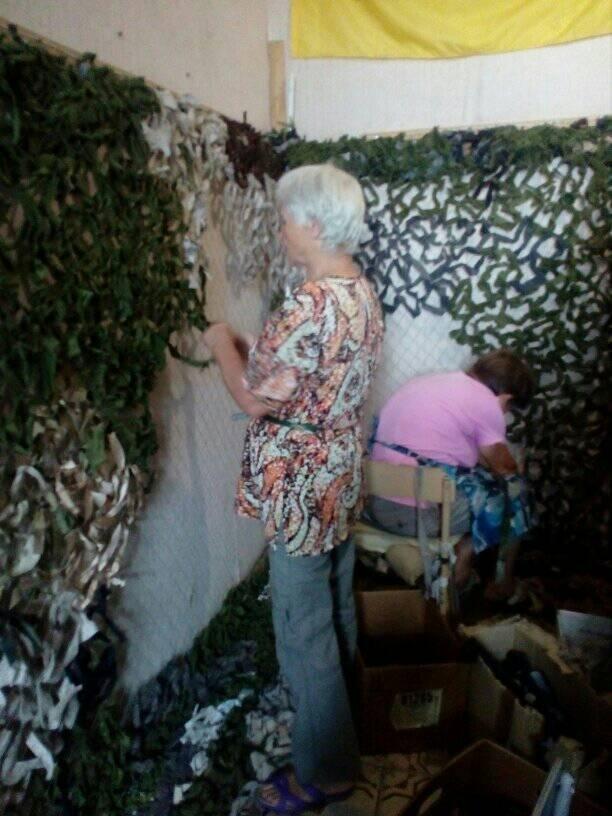 Білоцерківців просять надати тканину для плетіння маскувальних сіток для військових, фото-3