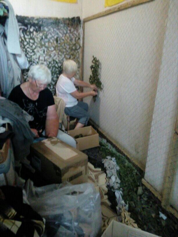 Білоцерківців просять надати тканину для плетіння маскувальних сіток для військових, фото-1
