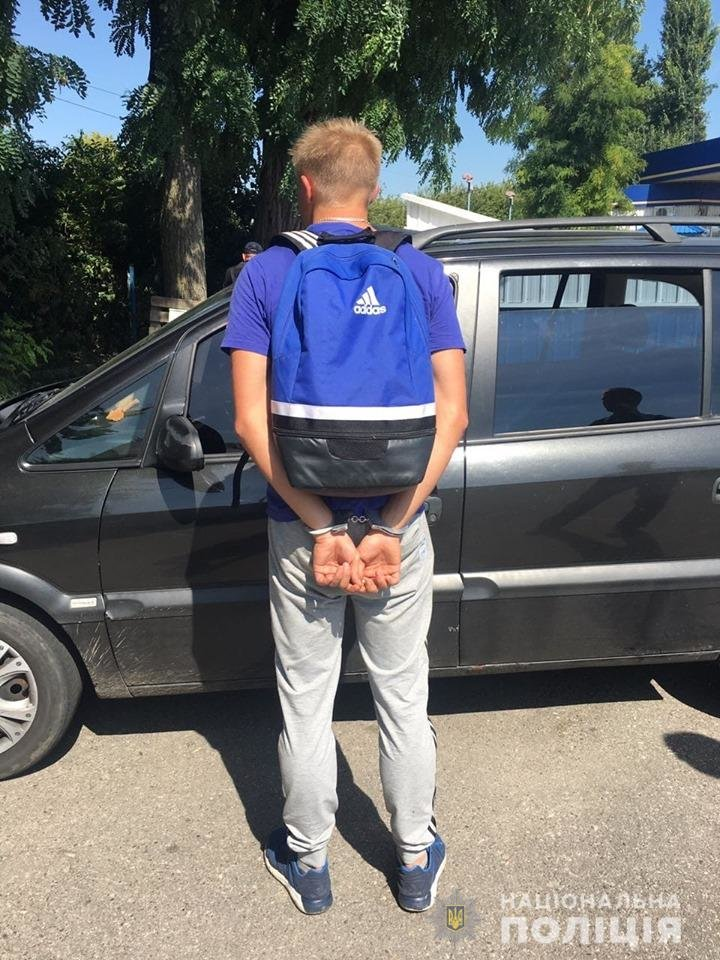 Білоцерківські патрульні  оперативно затримали зухвалих нападників, фото-1