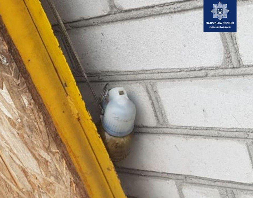 У гараж білоцерківця підкинули бойову гранату, фото-1