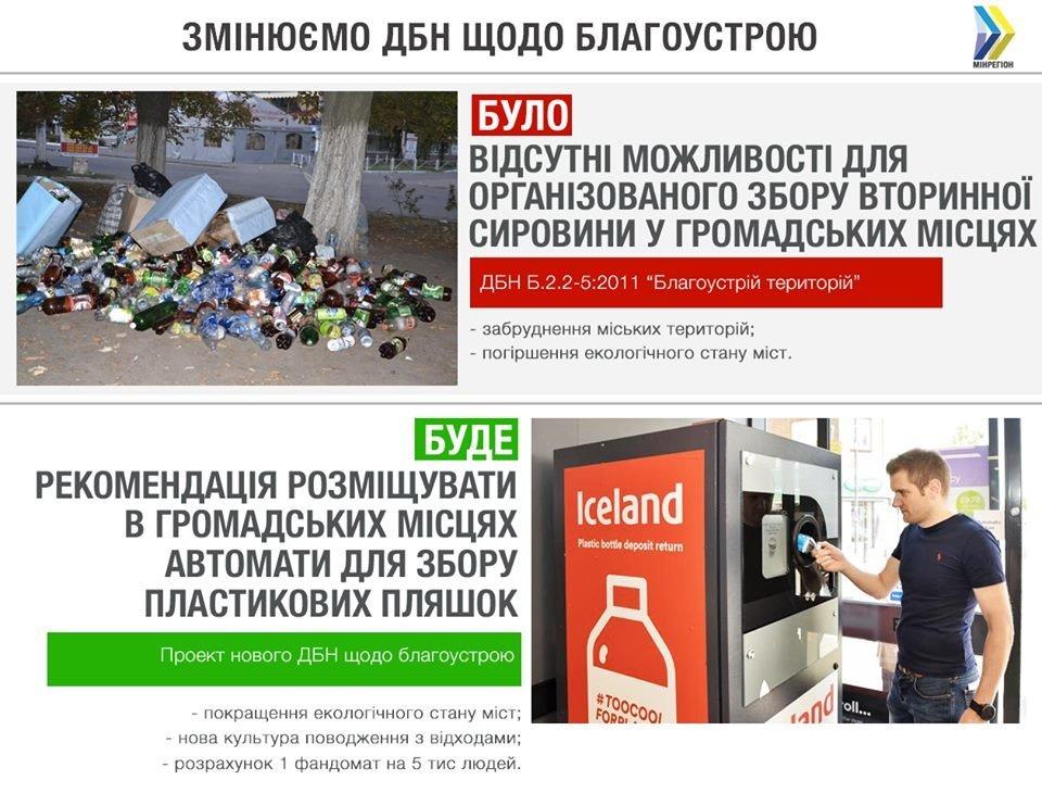 Збір пластикових пляшок: українським містам рекомендуватимуть встановити автомати, фото-1