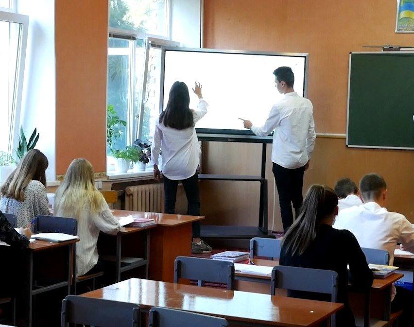 5 білоцерківських шкіл отримали сучасні інтерактивні панелі, фото-5