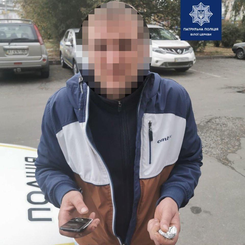 У Білій Церкві чоловік, який розшукується поліцією, викликав 102 аби поскаржитись на лікарів, фото-1